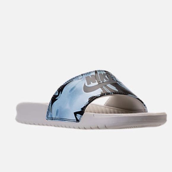 4eb1c7325 Nike Benassi JDI Print Slide Sandals BNWT